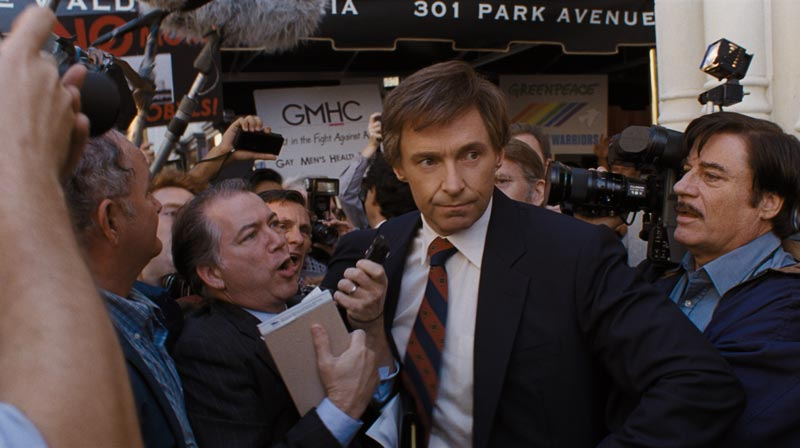 Hugh Jackman in una scena del film The Front Runner - Photo: courtesy of Sony Pictures