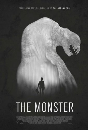 The Monster poster film