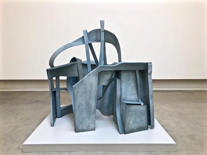 La scultura Origami-Nido di Paolo Bellini in mostra a Chiasso - Photo: MaSeDomani
