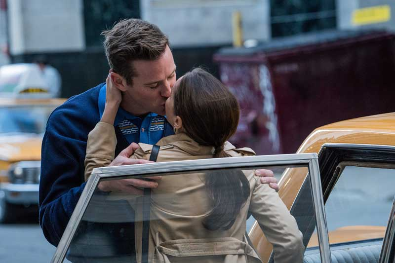 Armie Hammer e Felicity Jones nel film Una giusta causa - Photo: courtesy of Videa