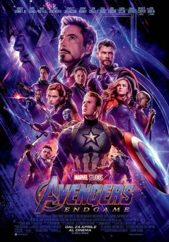 Avengers: Endgame poster film