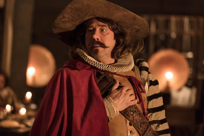 Olivier Gourmet in una scena del film Cyrano Mon Amour - Photo cortesy: Officine UBU