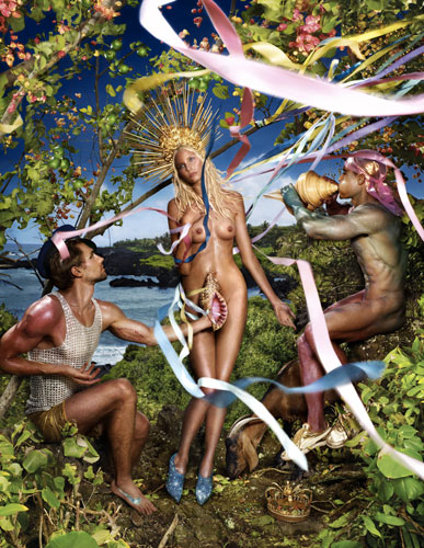 David LaChapelle, Rebirth Of Venus. Hawaii 2009