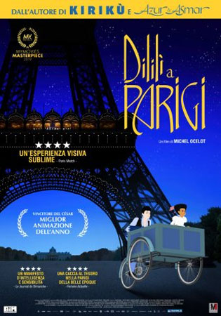Dilili a Parigi poster film