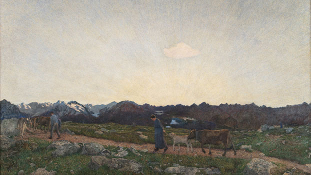 La Natura 1897‒1899 Olio su tela Museo Segantini, St. Moritz © Museo Segantini, St. Moritz Foto: FotoFlury