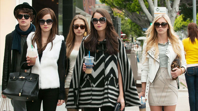 una scena del film Bling Ring di Sofia Coppola