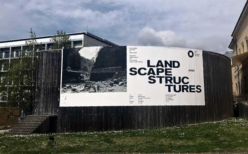 Landscape and Structures è la nuova mostra al Teatro dell'architettura - Photo: MaSeDomani