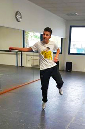 Tommy, talento del tip tap - Photo: Sarah Pellizzari Rabolini