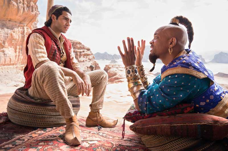 Una scena del film Aladdin - Photo: The Walt Disney Company Italia