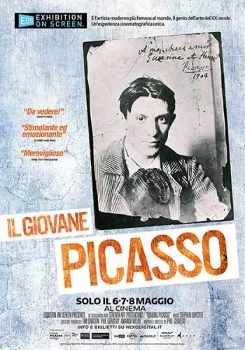 La locandina del film Il giovane Picasso