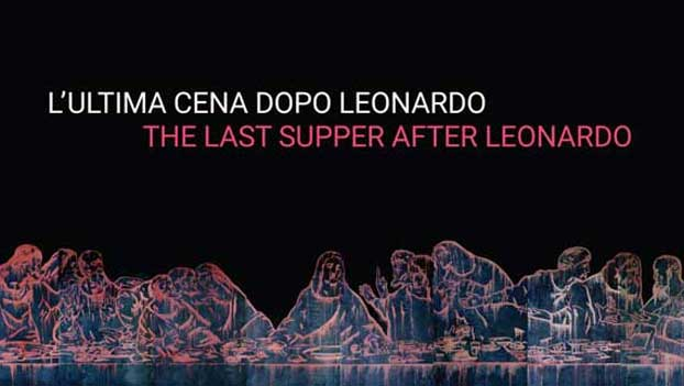 WANG GUANGYI, The Last Supper (New Religion). Cover de L'Ultima Cena dopo Leonardo