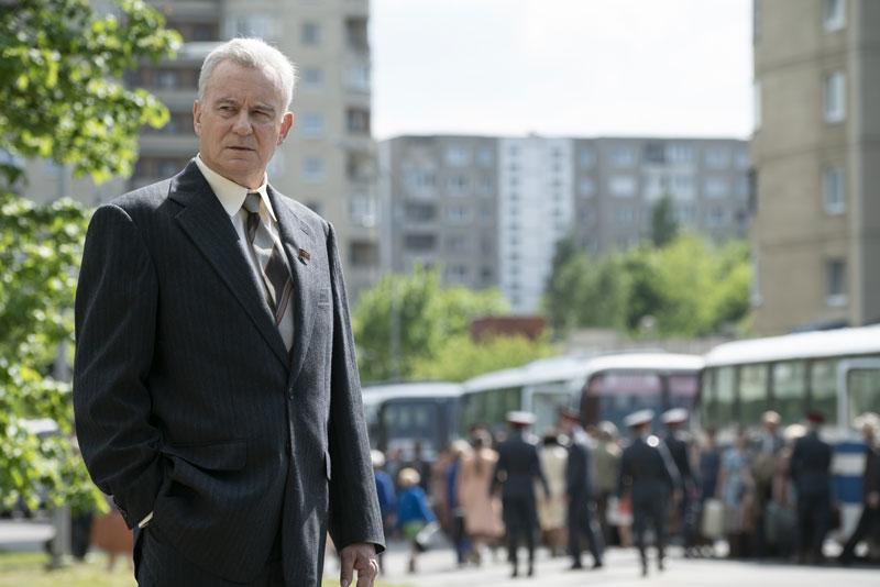 Stellan Skarsgard è Boris Shcherbina - Photo credit: Liam Daniel SKY/HBO