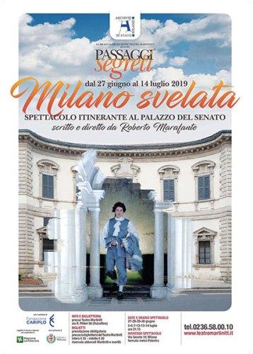 Passaggi Segreti Milano Svelata Locandina