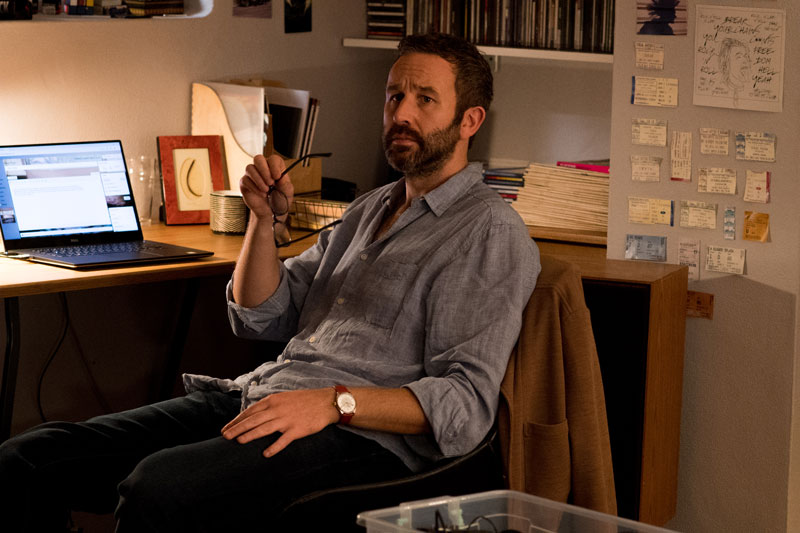 Chris O'Dowd nel film Juliet Naked - Photo: courtesy of BIM