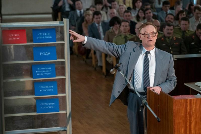 Jared Harris è Valery Legasov nella serie TV Chernobyl - Photo credit: SKY/ HBO