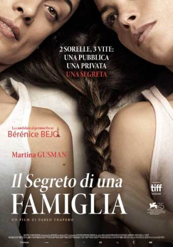 La locandina italiana del film Il Segreto di Una Famiglia