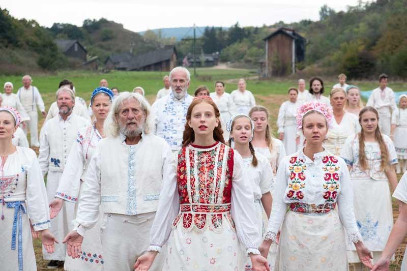 Una scena del film horror Midsommar - Photo: courtesy of Eagle Pictures
