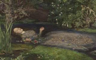 Preraffaelliti Amore e desiderio_Millais_dettaglio Ofelia_icona