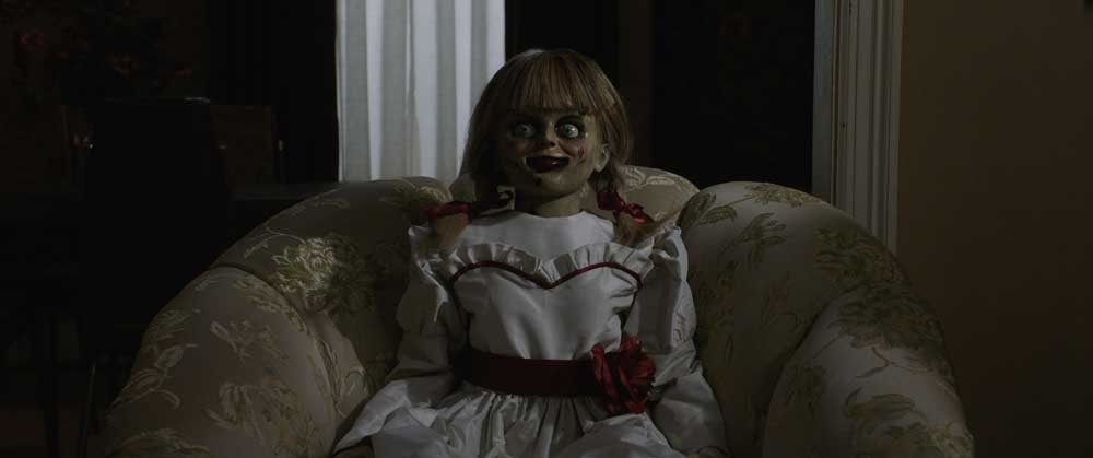 La bambola Annabelle nel film - Photo Credit: courtesy of Warner Bros. Pictures