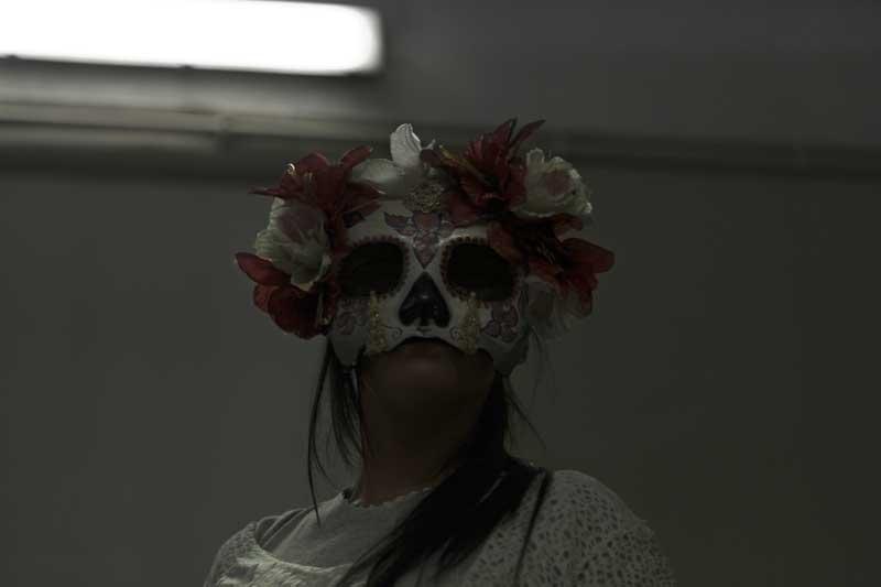 Un momento dello spettacolo Diarios de Frida. Viva la Vida - Photo: Cinzia Pedrizzetti