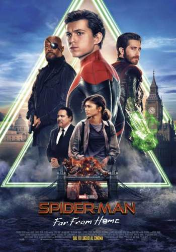 Spider-Man: Far From Home poster film