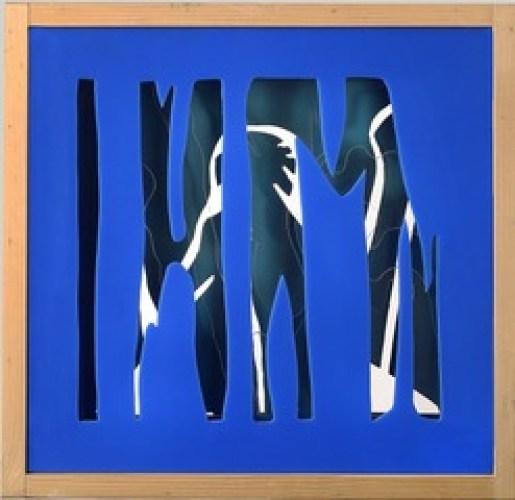 3D - Senza titolo, 1970 c. cm 43,4 x 43,4 x 6 L'opera è composta da 3 strati sagomati, 2 in plexiglas e l'ultimo in legno. N. archivio: FRB1929. Collezione Koelliker, inv. LKRB0206