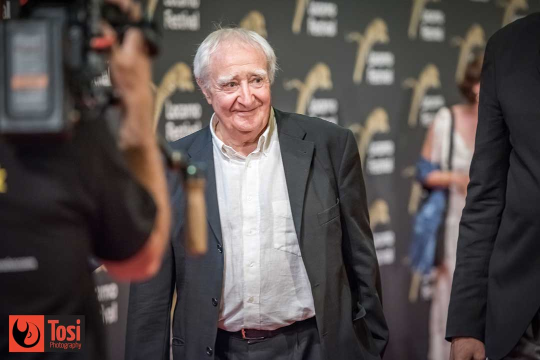 Freddi M Murer sul red carpet di Locarno 72 - Photo by Tosi Photography