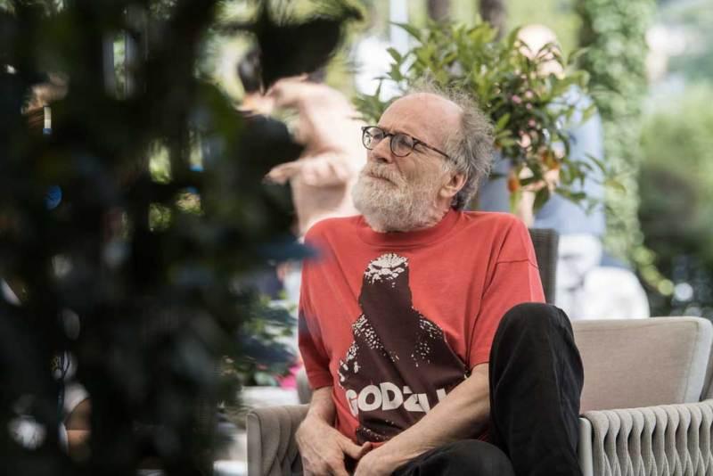 Enrico Ghezzi a Locarno per il Premio dell'Utopia - Photo: Locarno film festival / Samuel Golay