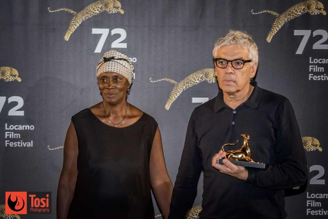 I vincitori di Locarno 72 - Pardo d'oro a Pedro Costa per il film VITALINA VARELA © Tosi Photography