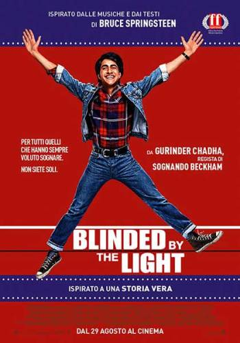 Il poster italiano del film Blinded by the Light