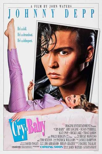 Cry Baby poster film