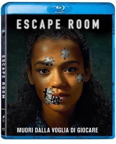 La cover del Blu-ray del film Escape Room di Adam Robitel