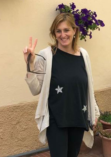 Sarah Pellizzari Rabolini autrice di R come infinito