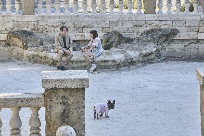 Edoardo Pesce e Daphne Scoccia nel film Il Colpo del Cane - Photo © Danilo Marocchi