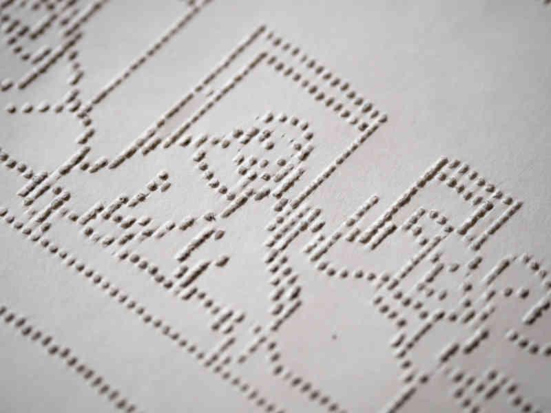 Spolvero Il Cenacolo rivelato, dettaglio, Lucrezia Zaffarano, Matteo Carbonara, Andrea Sartori. Photo courtesy of Fondazione Stelline
