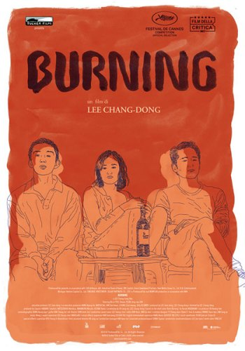Burning - L'amore brucia poster film