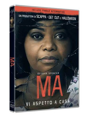 La cover del DVD di MA, l'horror con Octavia Spencer