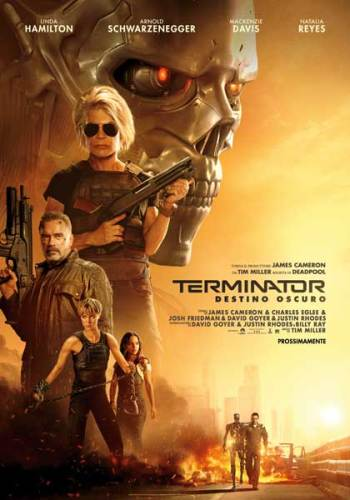 Terminator Destino Oscuro poster film