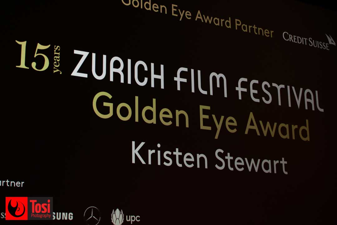 ZFF2019 Goden Eye Award to Kristen Stewart - Photo by Tosi Photography