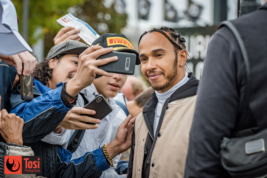 ZFF2019 Lewis Hamilton meeting fans - Photo by Tosi Photography