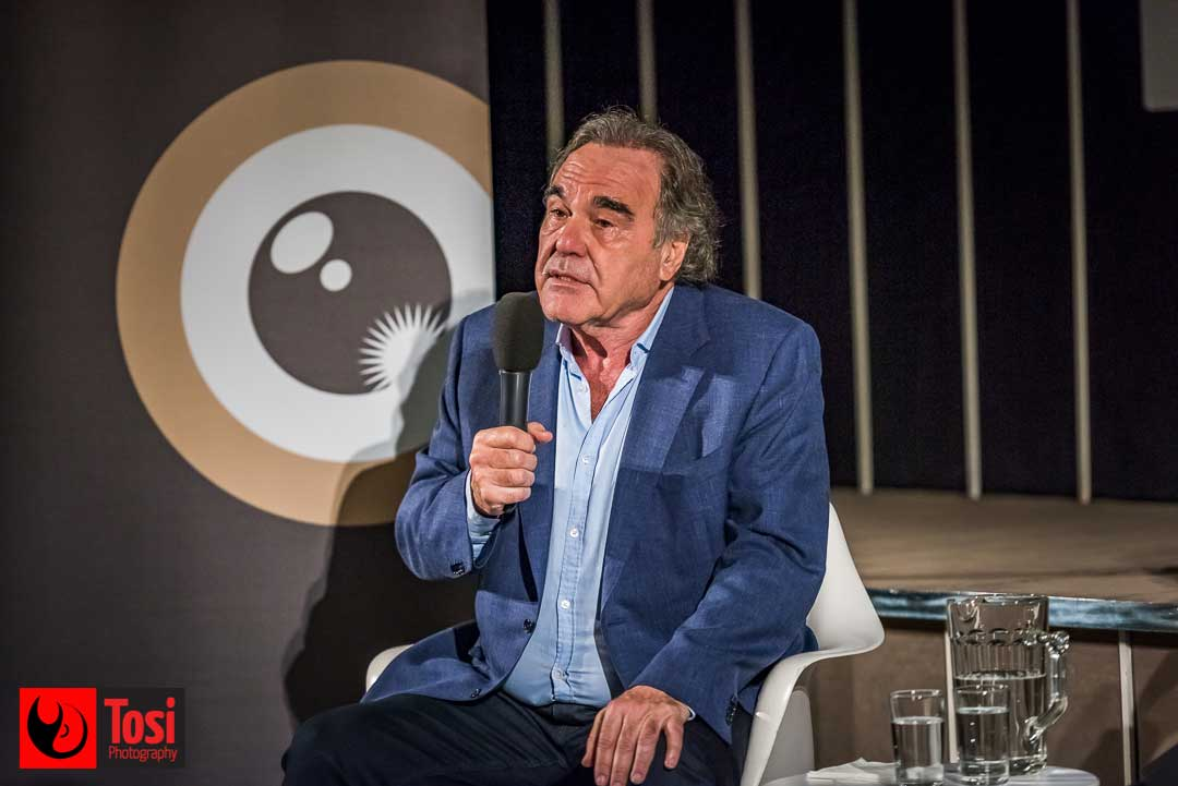 ZFF2019 Oliver Stone's masterclass - Photo by Tosi Photography