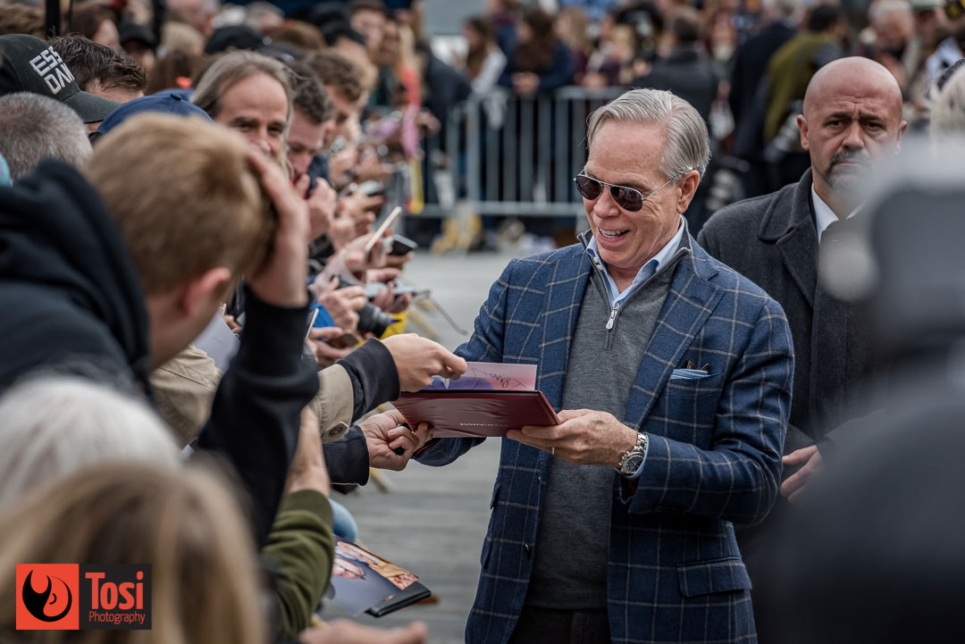 ZFF2019 Tommy Hilfiger signing autographs - Photo by Tosi Photography