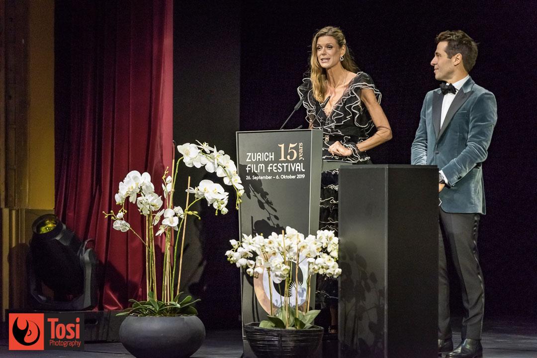 ZFF2019 Award Night hosts - Photo by Tosi Photography