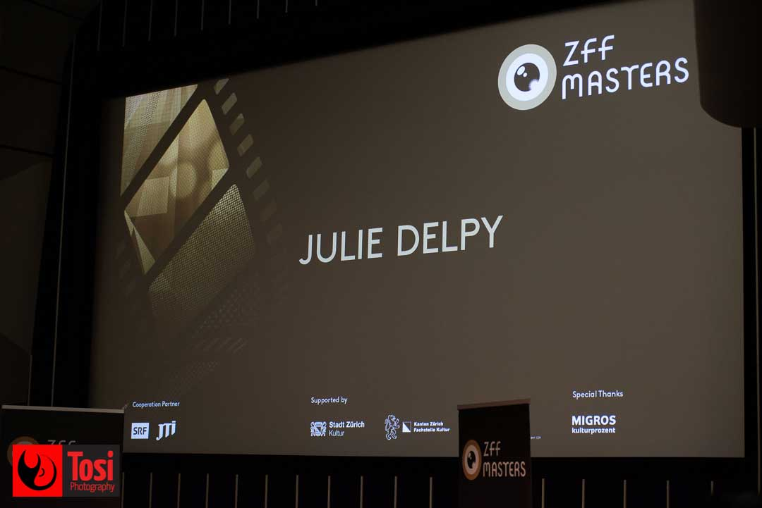 ZFF2019 Julie Delpy's masterclass - Photo by Tosi Photography