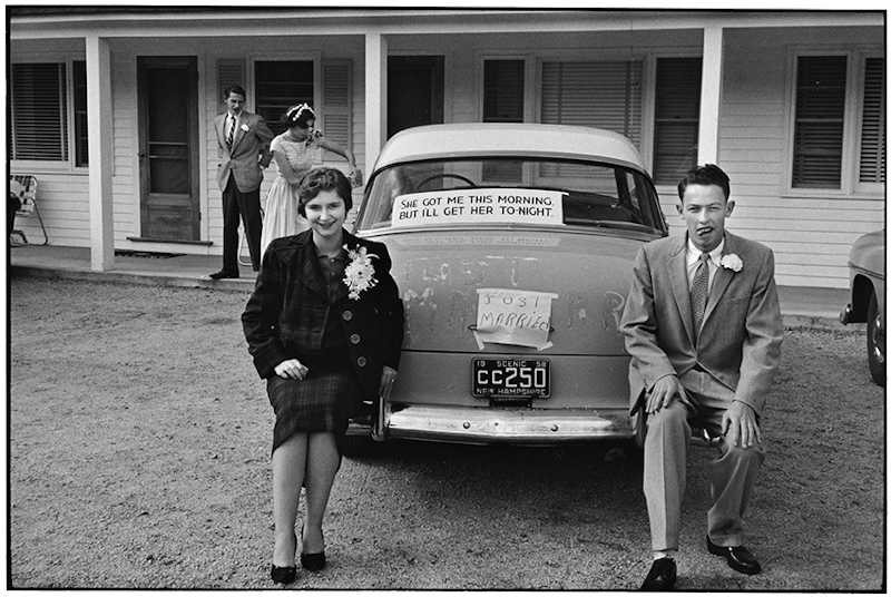 Elliott Erwitt, New Hampshire, USA, 1958. © Elliott Erwitt
