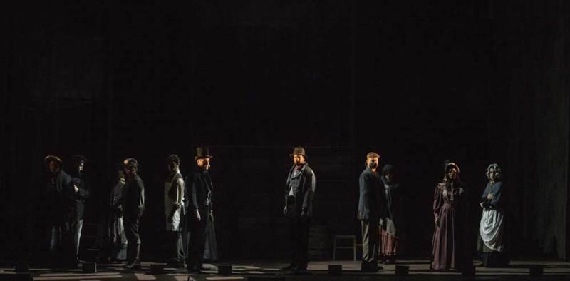 Una scena del musical - Foto di Marco Borrelli