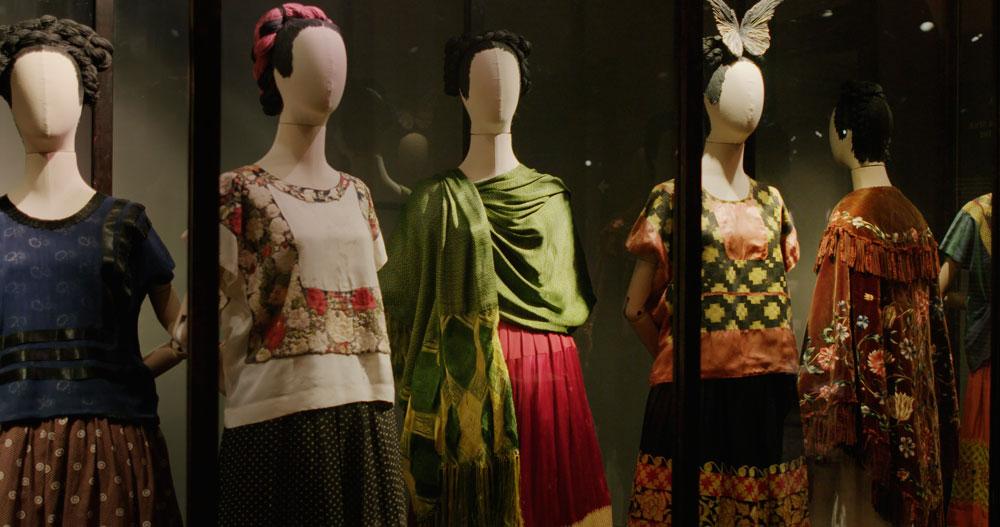 Un'immagine del film Frida Viva la Vida: Gli abiti di Frida Kahlo - Photo: courtesy of Nexo Digital