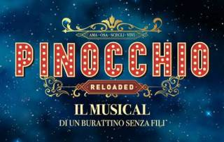 Pinocchio Reloaded banner musical