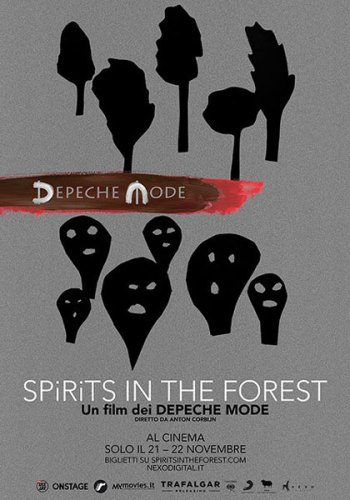 Depeche Mode Spirits in the Forest poster film