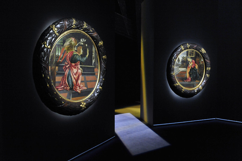 L'Annunciazione di Filippino Lippi esposta a Palazzo Marino durante il periodo Natalizio. Foto: Andrea Scuratti – Comune di Milano